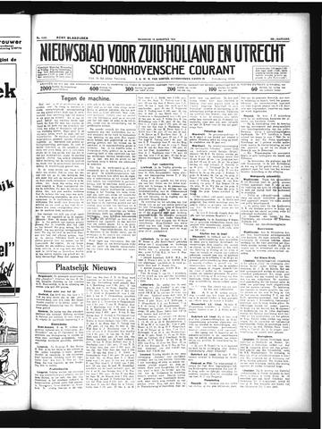 Schoonhovensche Courant 1934-08-13