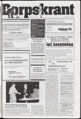 Dorpskrant 1986-12-03