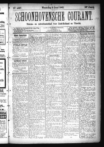Schoonhovensche Courant 1921-06-06