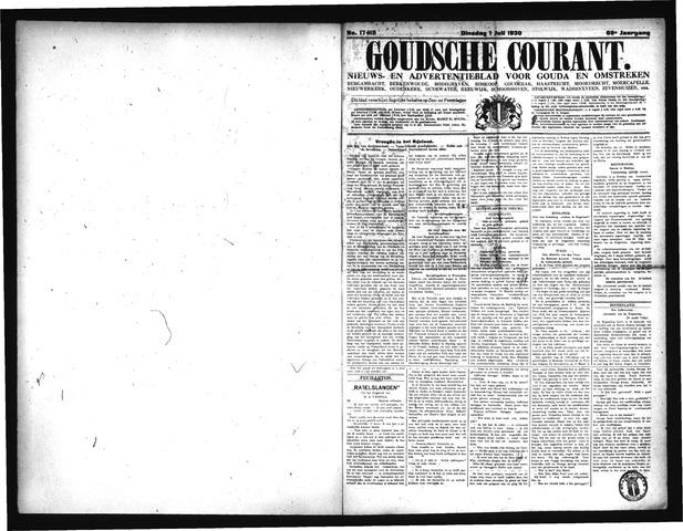 Goudsche Courant 1930-07-01