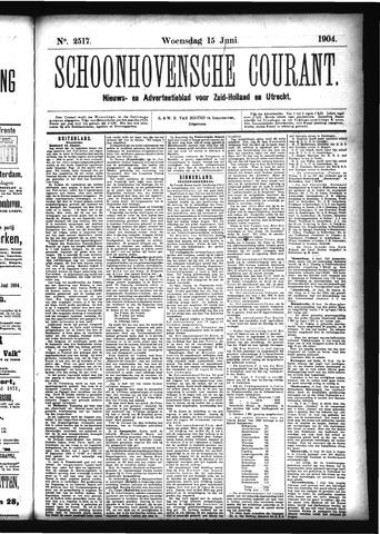 Schoonhovensche Courant 1904-06-15