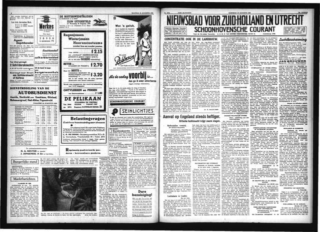 Schoonhovensche Courant 1940-08-28