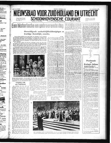 Schoonhovensche Courant 1948-09-07