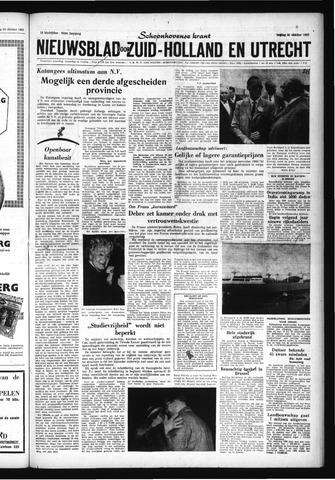 Schoonhovensche Courant 1960-10-21
