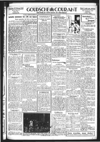 Goudsche Courant 1943-02-27