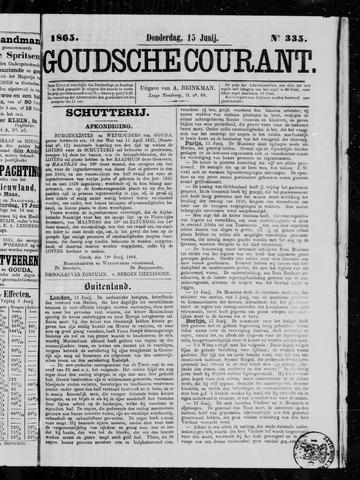 Goudsche Courant 1865-06-15