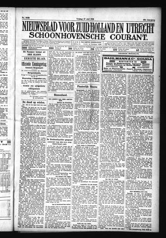 Schoonhovensche Courant 1928-07-27