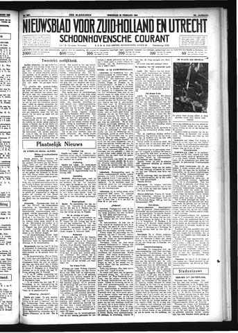 Schoonhovensche Courant 1934-02-28