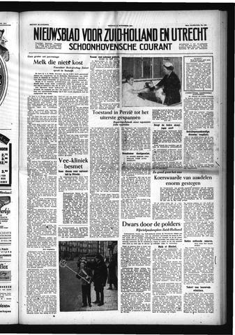 Schoonhovensche Courant 1954-11-12