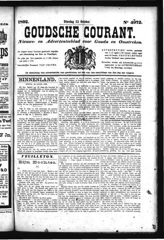 Goudsche Courant 1892-10-25