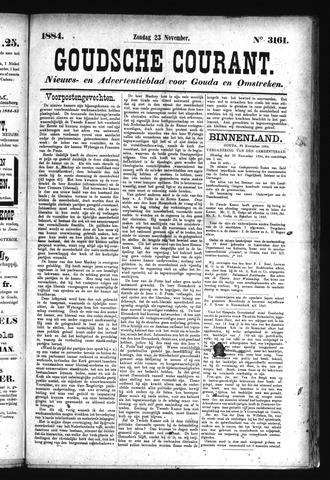 Goudsche Courant 1884-11-23