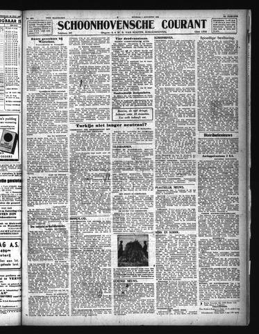 Schoonhovensche Courant 1944-08-01