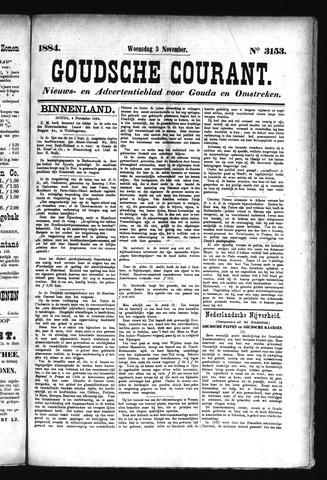 Goudsche Courant 1884-11-05