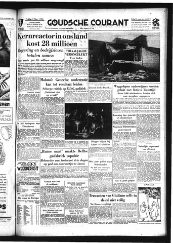 Goudsche Courant 1954-03-05