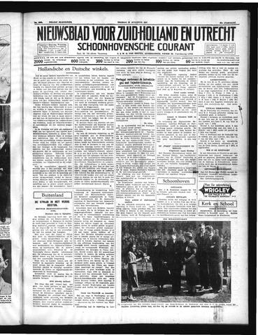 Schoonhovensche Courant 1937-08-20