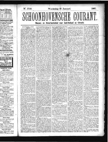 Schoonhovensche Courant 1897-01-27