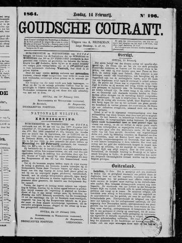 Goudsche Courant 1864-02-14