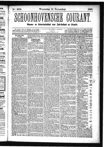 Schoonhovensche Courant 1908-11-11