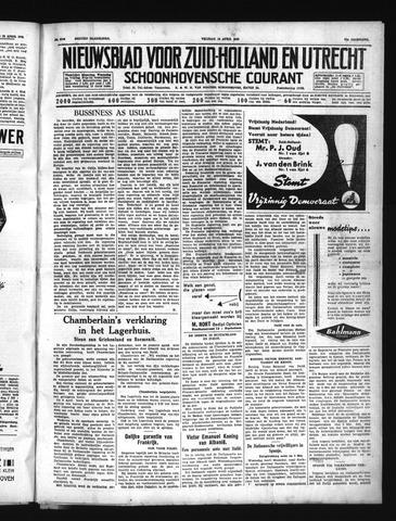 Schoonhovensche Courant 1939-04-14