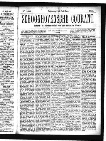 Schoonhovensche Courant 1899-10-28