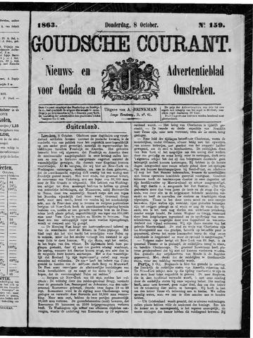 Goudsche Courant 1863-10-08