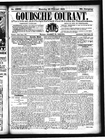 Goudsche Courant 1918-02-25