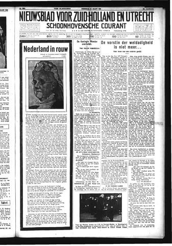 Schoonhovensche Courant 1934-03-21