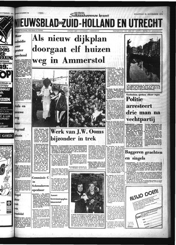 Schoonhovensche Courant 1974-11-25