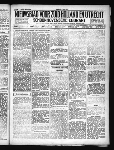 Schoonhovensche Courant 1938-04-13