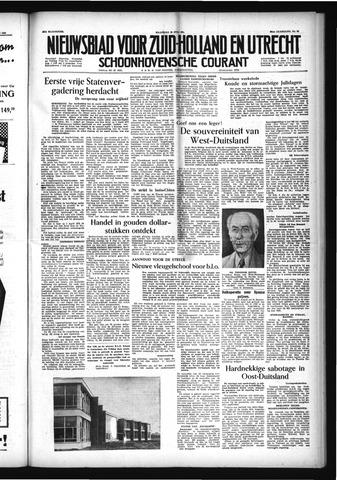 Schoonhovensche Courant 1954-07-19