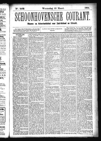 Schoonhovensche Courant 1904-03-23