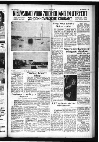 Schoonhovensche Courant 1954-02-01