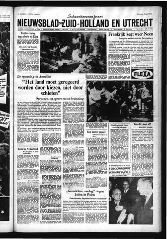 Schoonhovensche Courant 1968-04-08