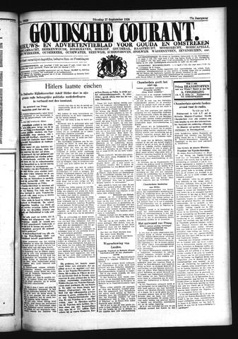 Goudsche Courant 1938-09-27