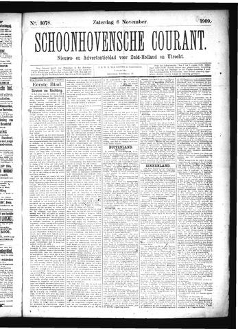 Schoonhovensche Courant 1909-11-06