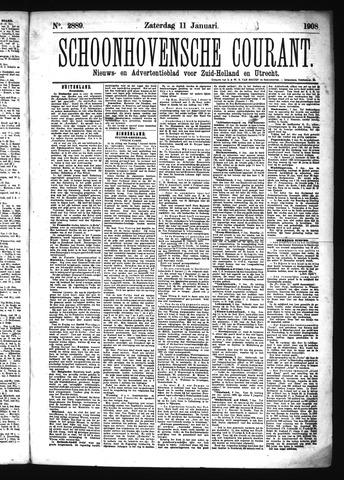 Schoonhovensche Courant 1908-01-11
