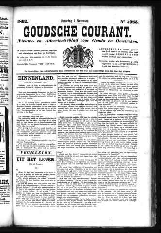 Goudsche Courant 1892-11-05