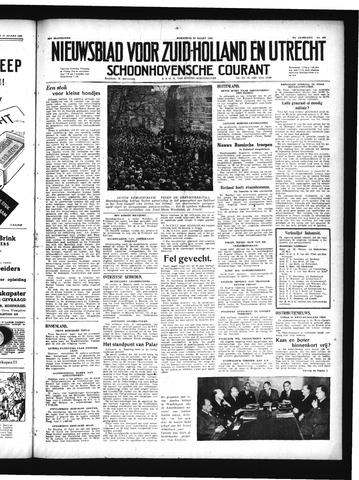Schoonhovensche Courant 1949-03-23