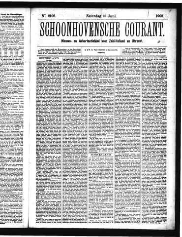 Schoonhovensche Courant 1900-06-23