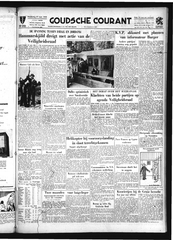 Goudsche Courant 1956-09-27