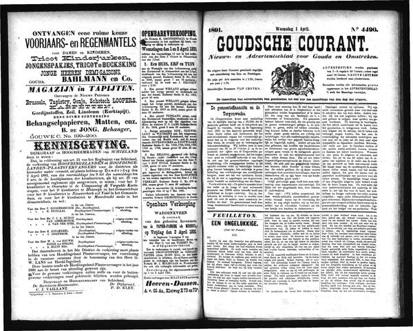 Goudsche Courant 1891-04-01