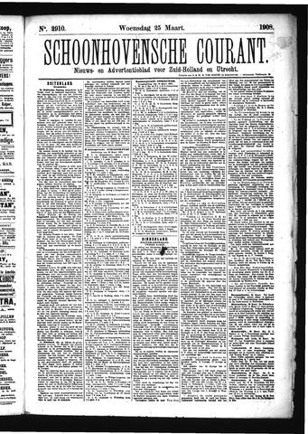 Schoonhovensche Courant 1908-03-25