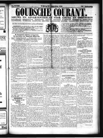Goudsche Courant 1931-08-21