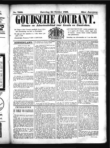 Goudsche Courant 1896-10-24