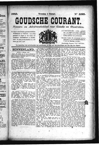 Goudsche Courant 1885-02-04