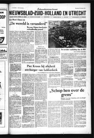 Schoonhovensche Courant 1972-02-28