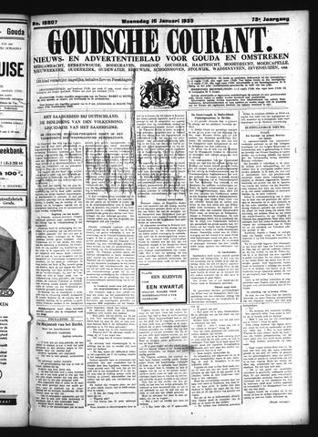 Goudsche Courant 1935-01-16