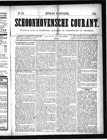 Schoonhovensche Courant 1872-10-06