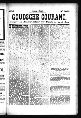 Goudsche Courant 1884-03-09