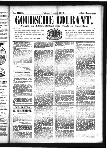 Goudsche Courant 1910-04-08